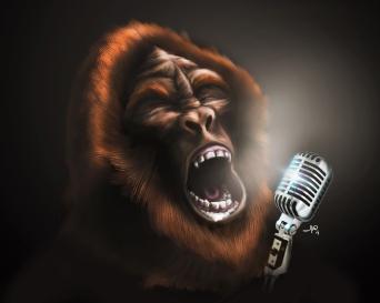 singing sasquatch