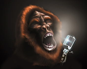 singing sasquatch