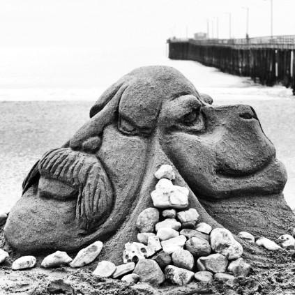 Back2Back_Sand Sculpture